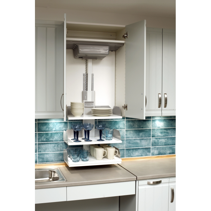 Vertical Wall Cabinet Lift Electricverti 830 831 Inclusive Living